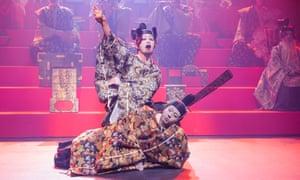 A scene from Hamlet directed by Yukio Ninagawa at the Barbican in London last year.