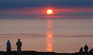 Penrallt Coastal Campsite, Llyn Peninsula, Wales