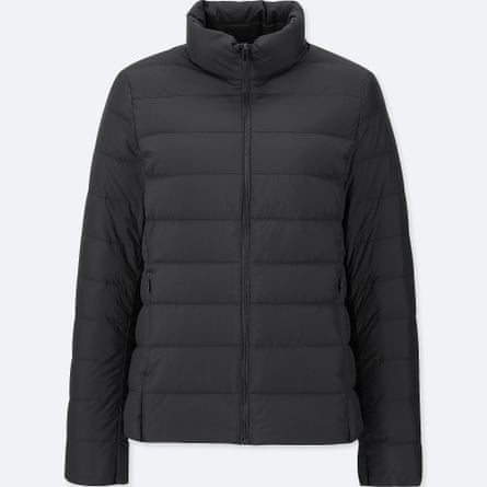 One of Uniqlo's warm down jackets.