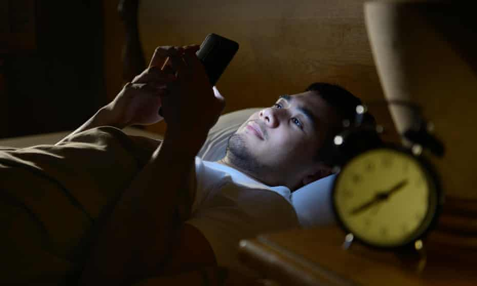 Sleep tight: 'Switch off mobile phones and computer screens ...'