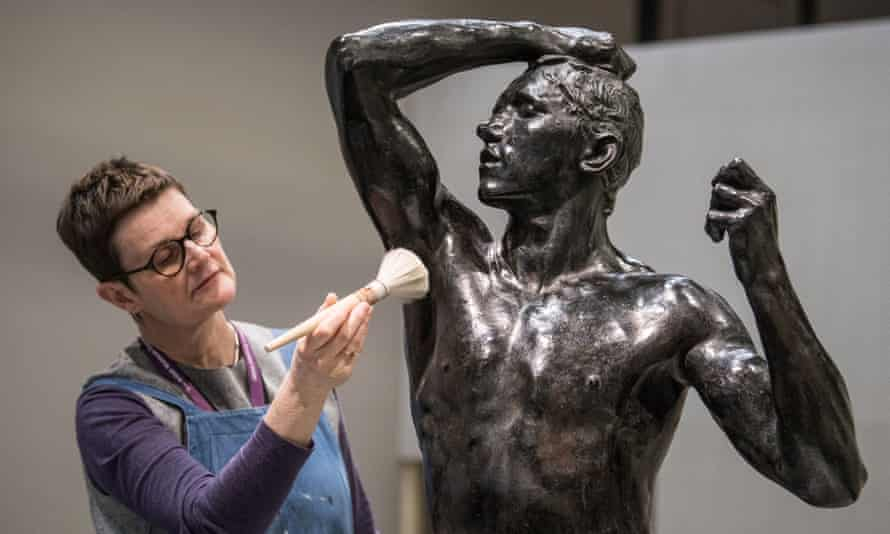 Dizzying career … Rodin's The Age of Bronze, from 1877.