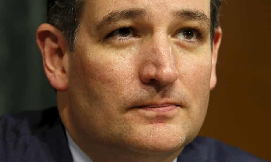 Republican presidential candidate Ted Cruz