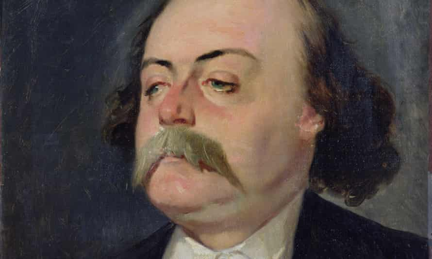 Irascible and filled with hatred … Gustave Flaubert.