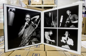 The gatefold of John Coltrane's classic album Blue Train