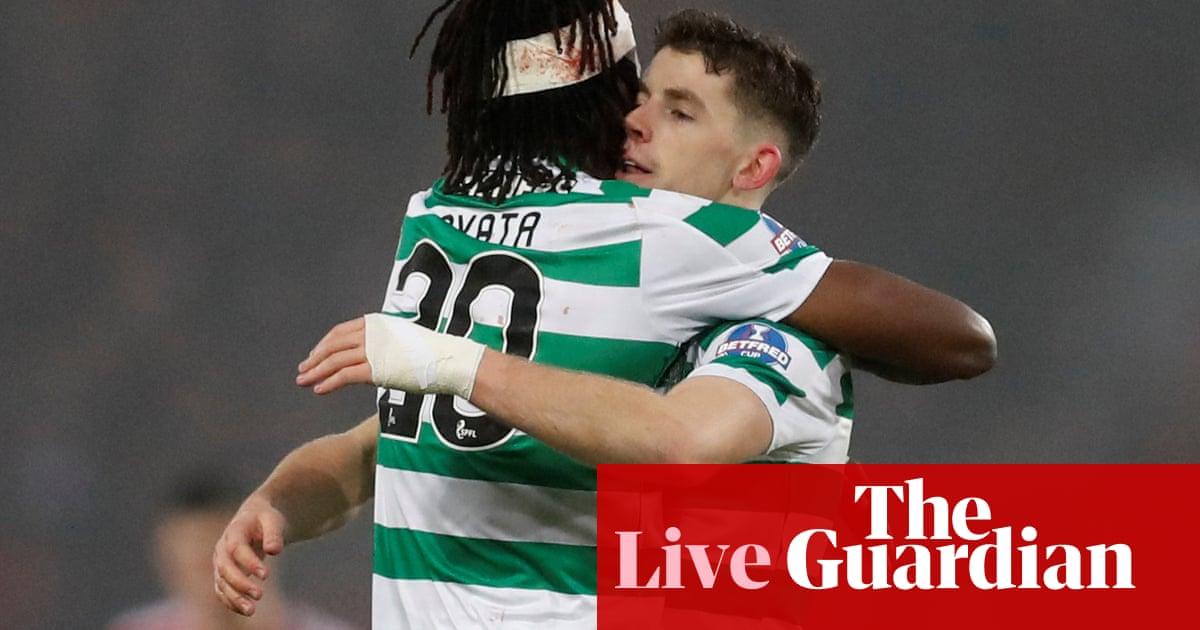 d4fae6cc3d0 Celtic v Aberdeen  Scottish League Cup final – as it happened ...