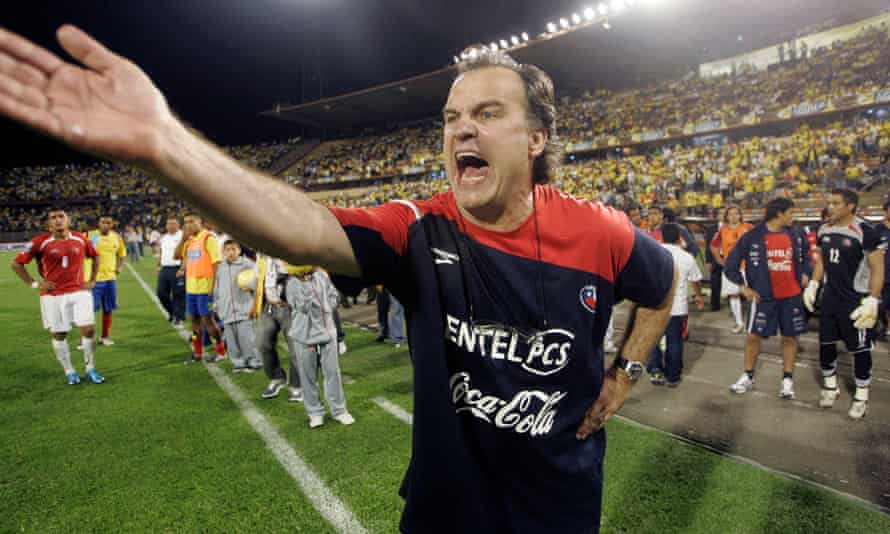 Bielsa has led two different countries at World Cups: Argentina in 2002 and Chile in 2010.