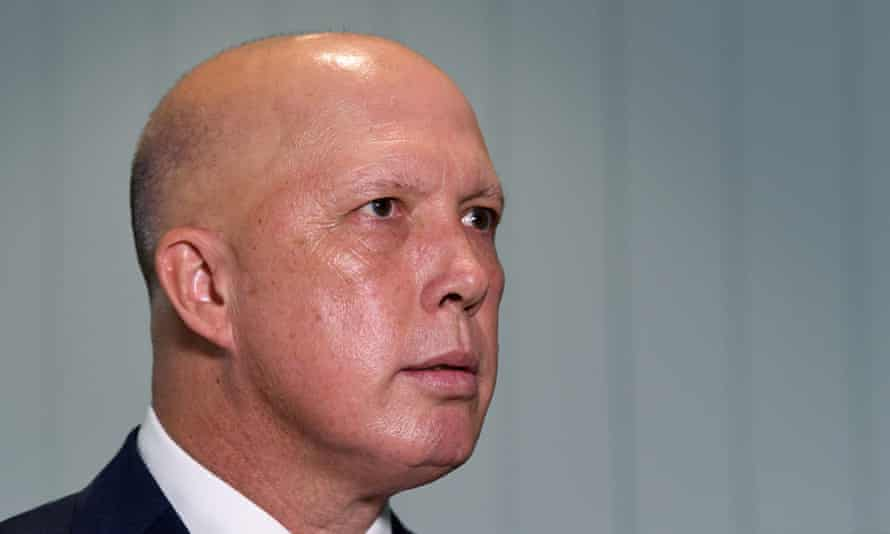New defence minister Peter Dutton