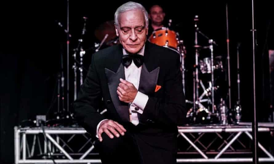Dean Parrish performing in later years, when his visits to the UK were frequent.