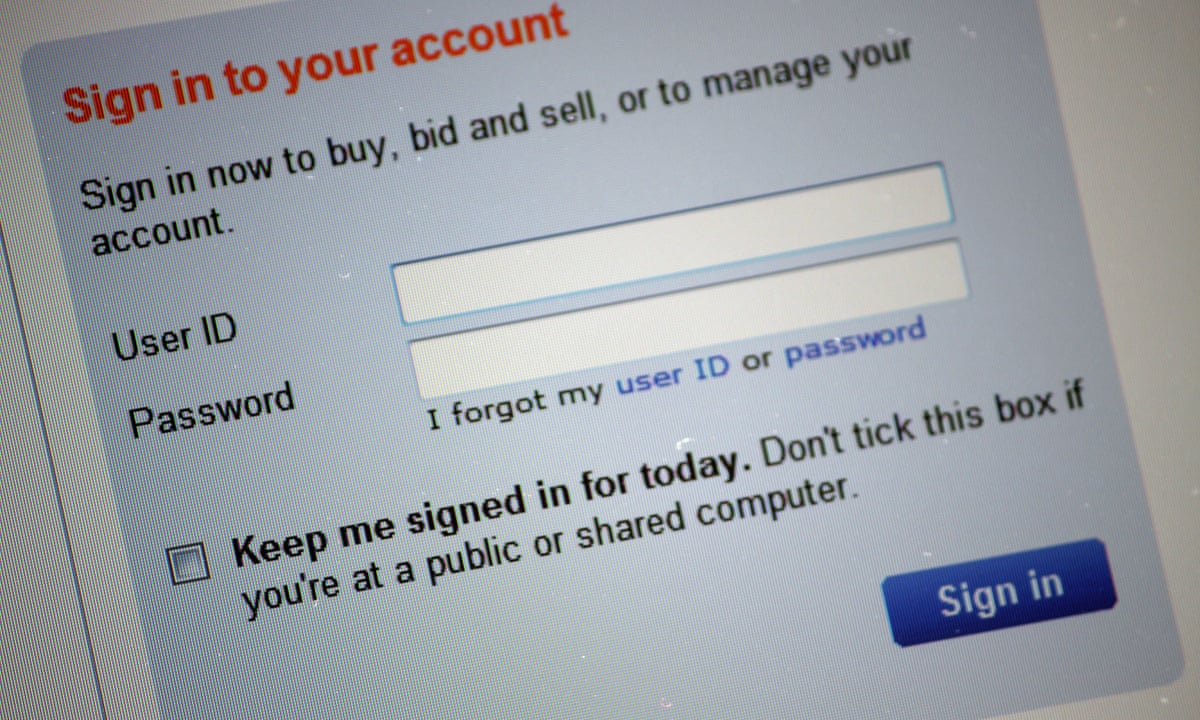 Zero Chance Of Closing My Ebay Account Money The Guardian