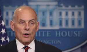 John F Kelly replaces Reince Priebus as White House chief of staff