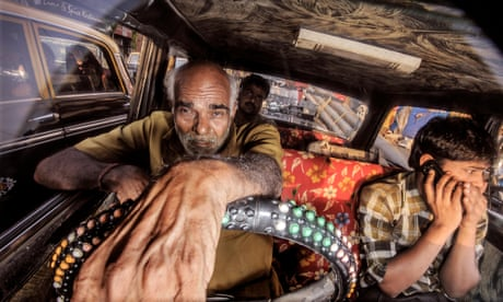 Out of my way! The colour and chaos of Mumbai's customised taxis – in pictures