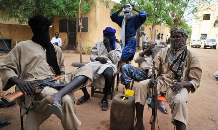 Fighters of the Islamist group Movement for Oneness and Jihad in West Africa (MUJAO) in Gao, Mali, where extremist groups have flourished.