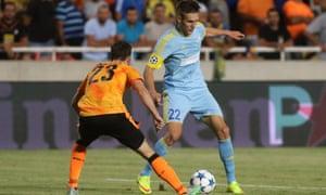FC Astana's Baurzhan Dzholchiyev