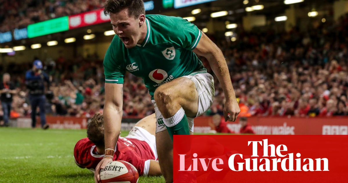 Wales 17-22 Ireland: Rugby World Cup warm-up – live!