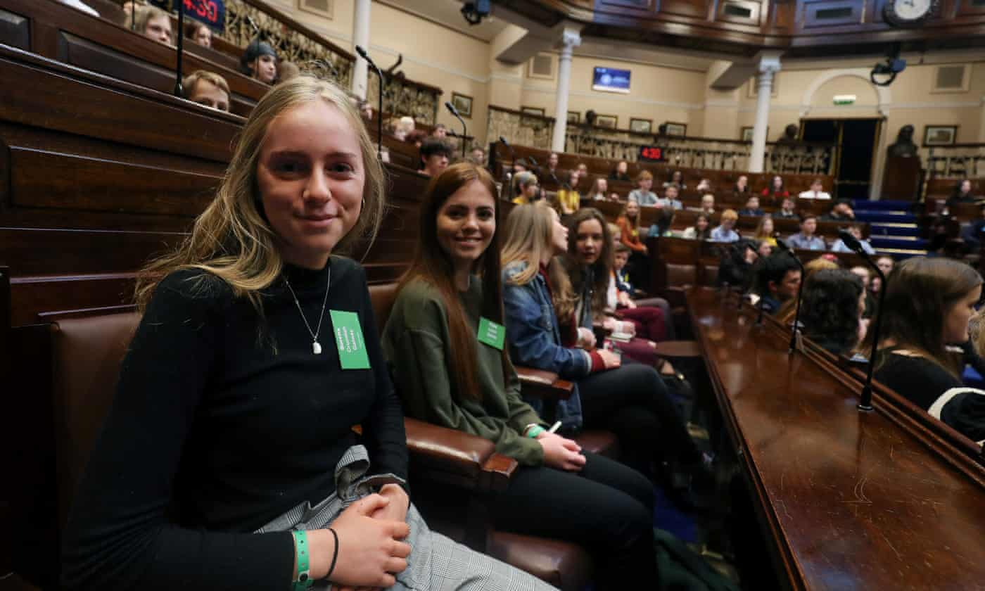 'Ensure we have a future': Irish youth in climate appeal to Dáil