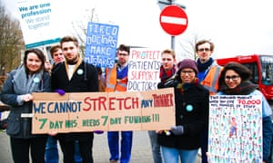 Junior doctors strike on 7 April.