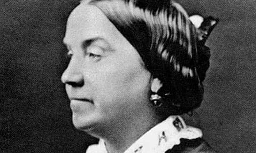 Lizzie Burns c1865.