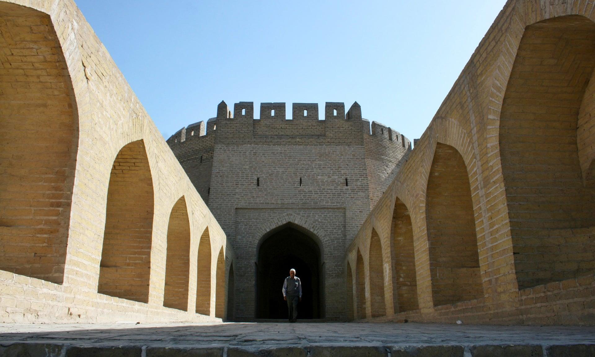 آخر بوابة من مدينة بغداد