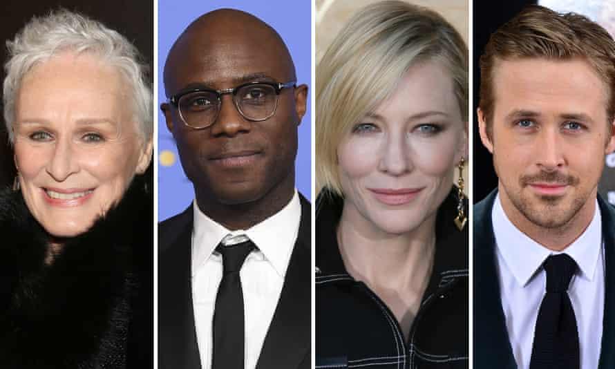 Glenn Close, Barry Jenkins, Cate Blanchett, and Ryan Gosling: future winners?