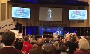 Ted Cruz at rally