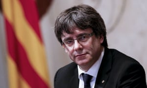 Catalan president Carles Puigdemont.