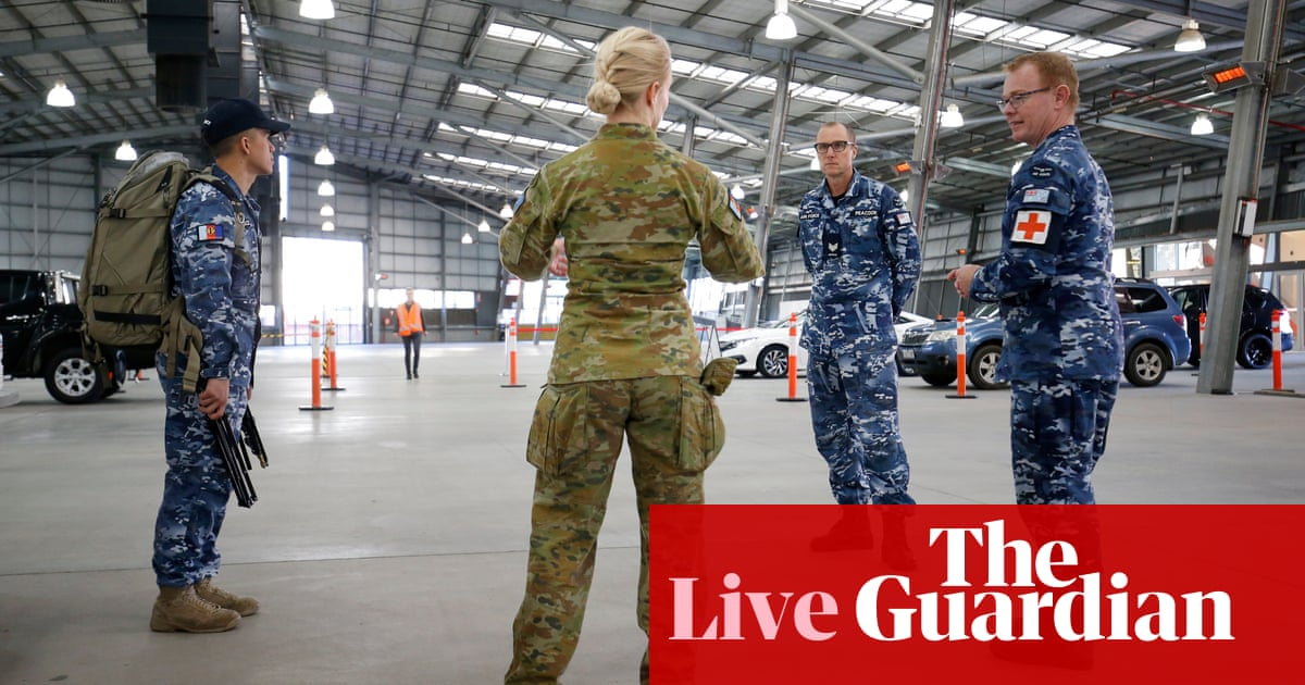 Coronavirus Australia live updates: army sent to NSW-Victoria border as Melbourne lockdown continues - The Guardian
