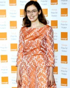 Madeline Miller at the Orange Prize for fiction awards in 2012