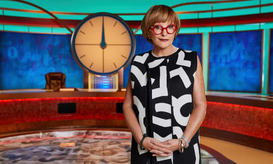 Relegated to the role of usher ... Anne Robinson on Countdown.