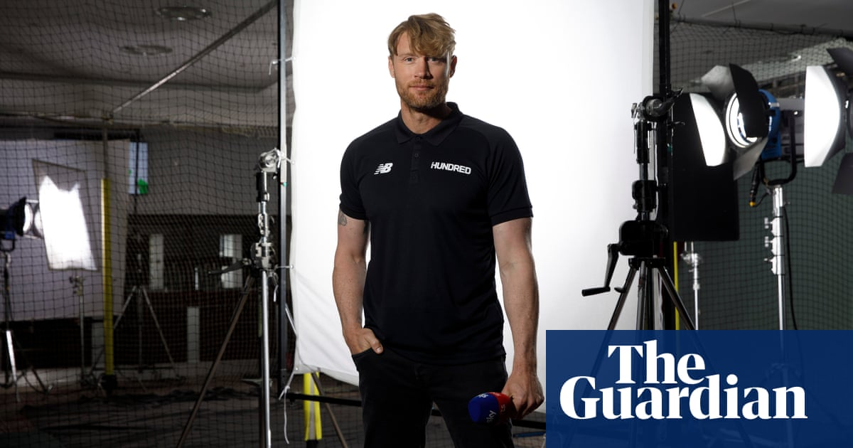 Andrew Flintoff: 'The Hundred will be an adjustment for me too, I'm not going to lie'