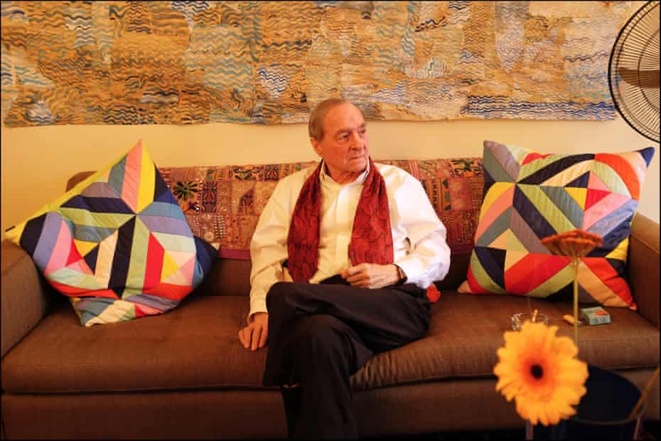 William Eggleston photographed at home in Memphis, Tennessee