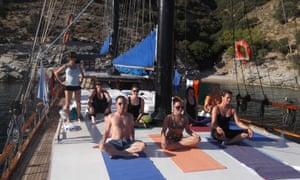 Yoga and cruising