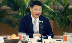 Chinese President Xi Jinping in Johannesburg, South Africa. A China News Service report into his visit incorrectly mentioned his resignation.