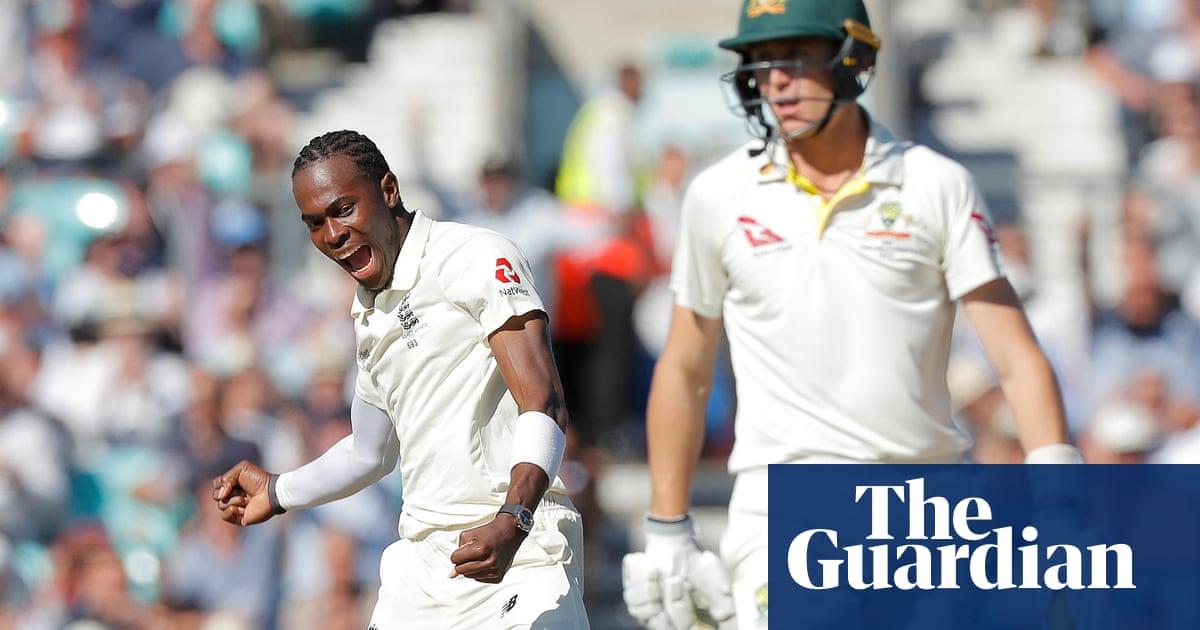 Jofra Archer's six wickets put England on top despite Steve Smith's resistance