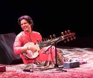 Ayaan Ali Bangash on stage.