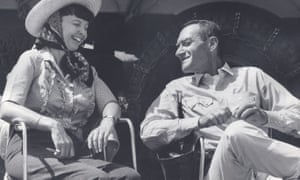 Michael Frank's aunt Harriet Frank Jr and uncle Irving Ravetch on the set of Hud in 1962.