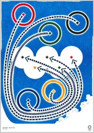 Olympic Cloud by graphic designer Taku Satoh