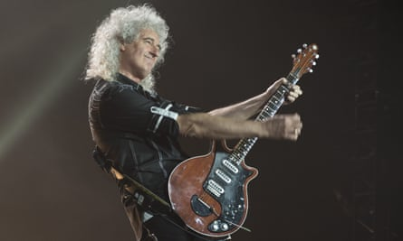Wish you were hair: Brian May, co-creator of Starmus festival.