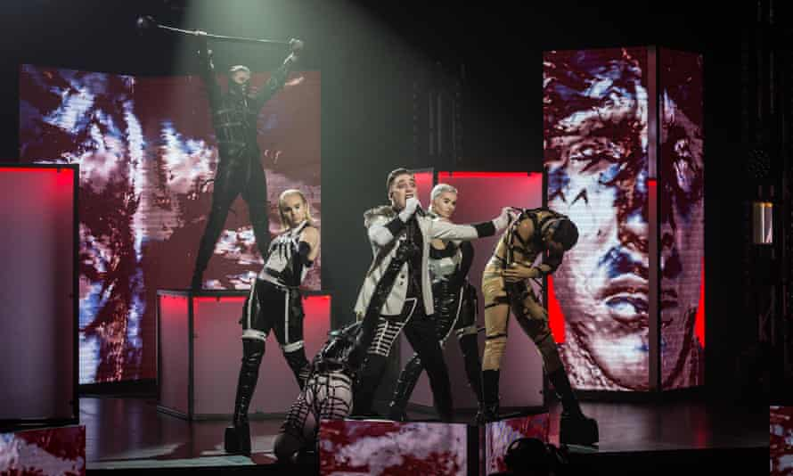 Hatari came out on top in Söngvakeppnin, Iceland's domestic Eurovision contest.