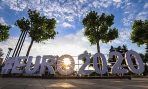 Euro 2020 fever, in Baku.