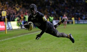 Christian Wade was a bright sport for Wasps but the team were too defensively frail.