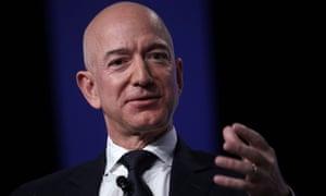 Jeff Bezos in National Harbor, Maryland on 19 September.