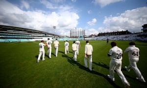 Surrey's season will begin at home to Essex.