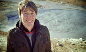 Prof Brian Cox on location at Hverir in Iceland, where there is a large amount of geothermal activity.