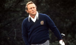 Arnold Palmer at the Ryder Cup in 1973.