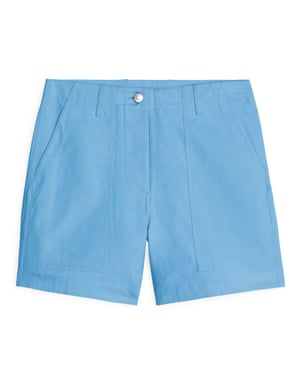 Cotton twill workwear shorts