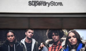A Superdry store in London