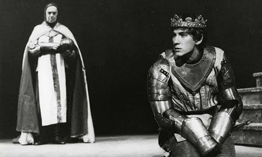 'Ian played Richard as a sacramental figure' … Prospero's production of Richard II.