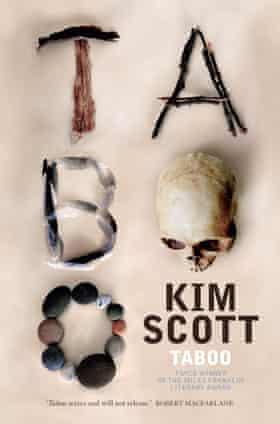 Cover image for the novel Taboo by Indigenous Australian writer Kim Scott