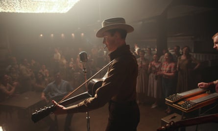 Tom Hiddleston as the US country star Hank Williams in I Saw the Light.