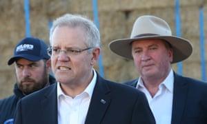 Scott Morrison and Barnaby Joyce